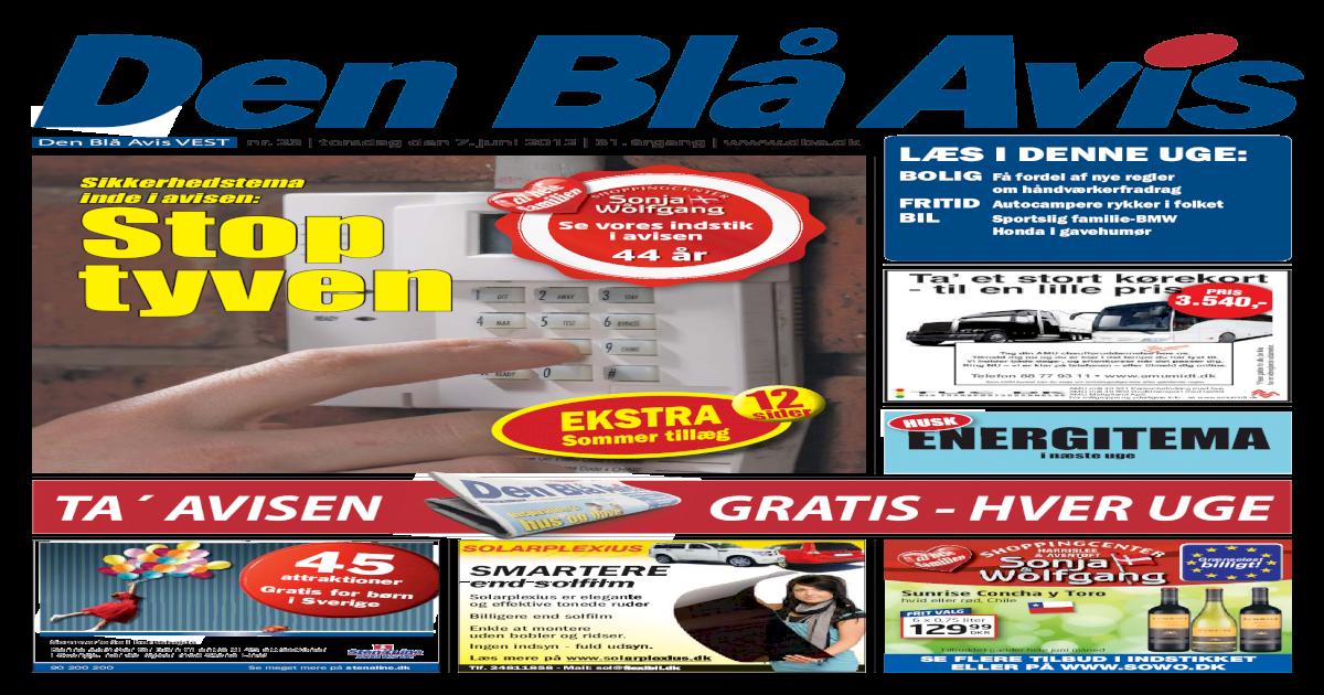 b24bbd05 Den Bl Avis - VEST - 23-2012