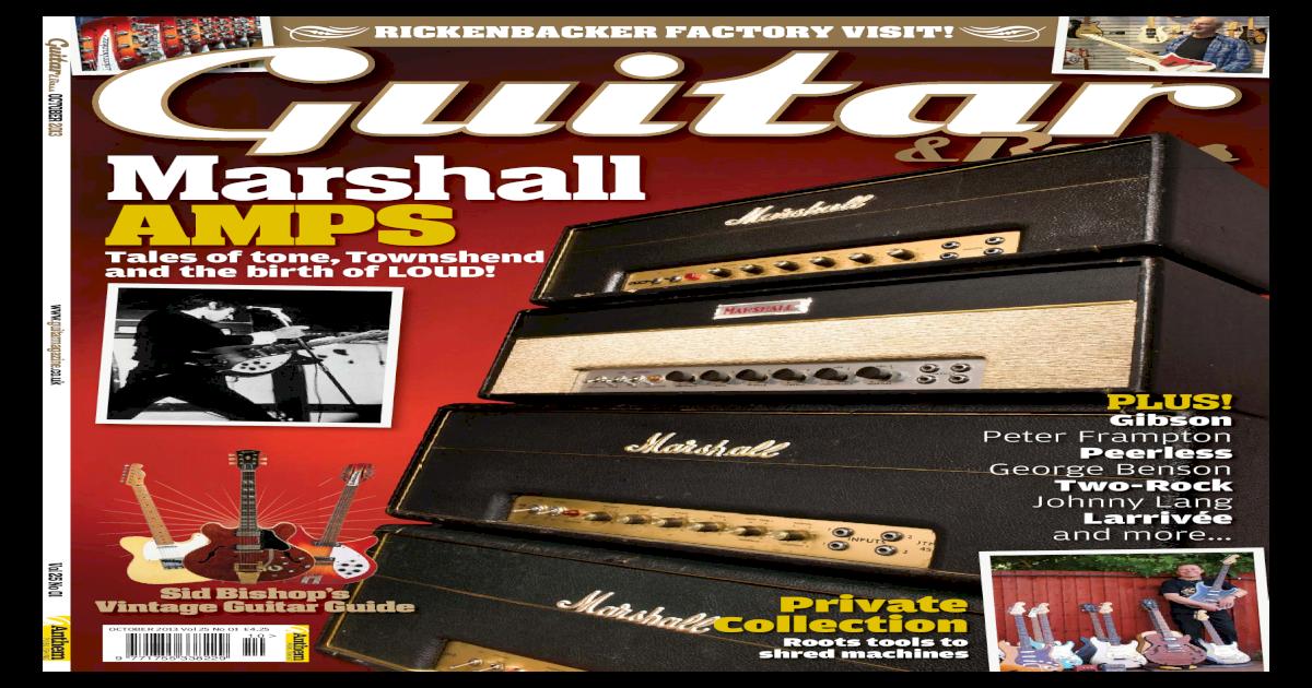 Guitar & Bass - October 2013 UK