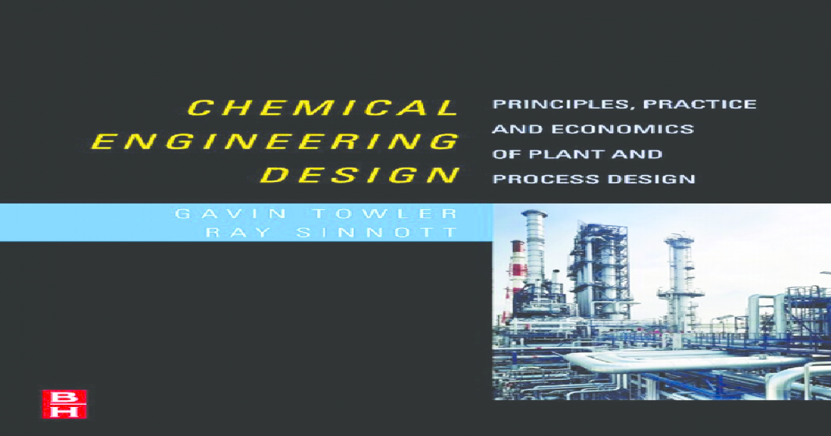 Chemical engineering design principles fandeluxe Images