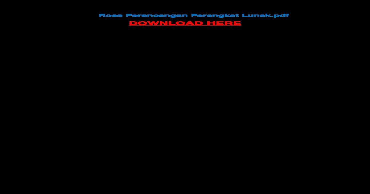 Buku Rekayasa Perangkat Lunak Pdf