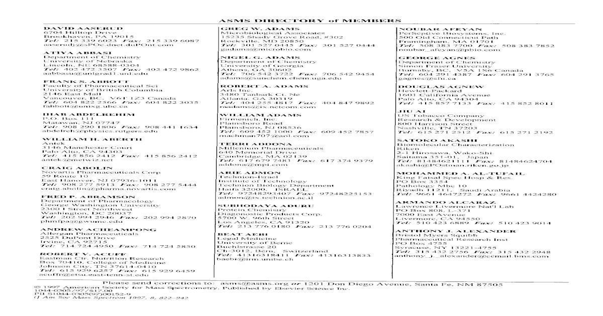 ASMS directory of members 059b1891c6