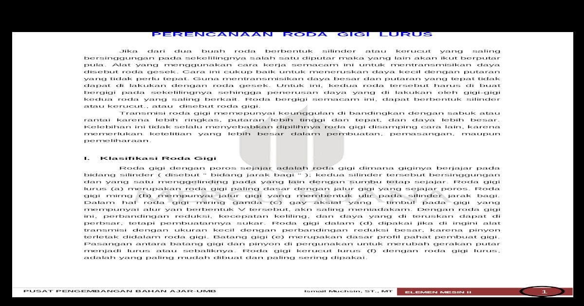 Perencanaan roda gigi lurus 55cf9912550346d0339b6427g ccuart Gallery