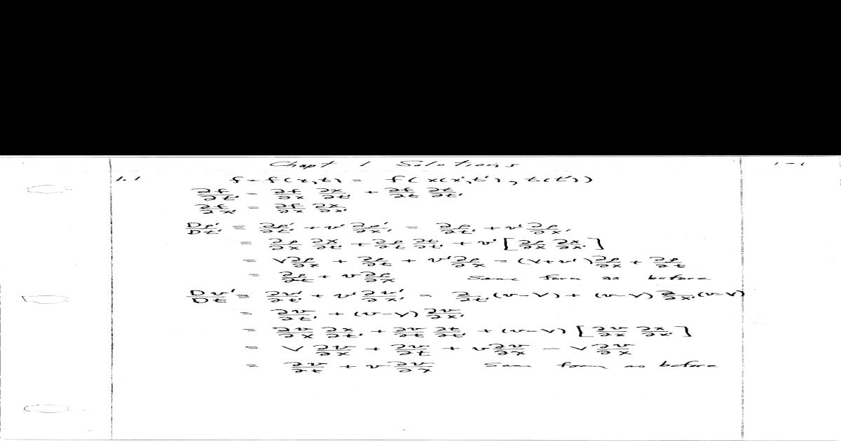 54229636 panton incompressible flow solutions ch 01 06 rh dokumen tips Incompressible Flow Field Is Air Incompressible