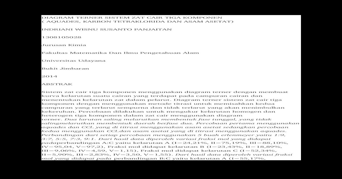 Diagram terner sistem zat cair tiga komponencx ccuart Image collections