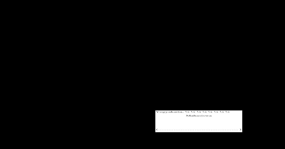 Format Permohonan Perbaikan Ijazah Doc