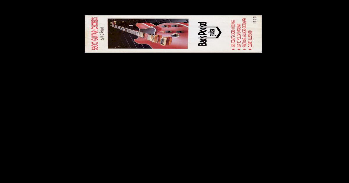 5500 Guitar Chords