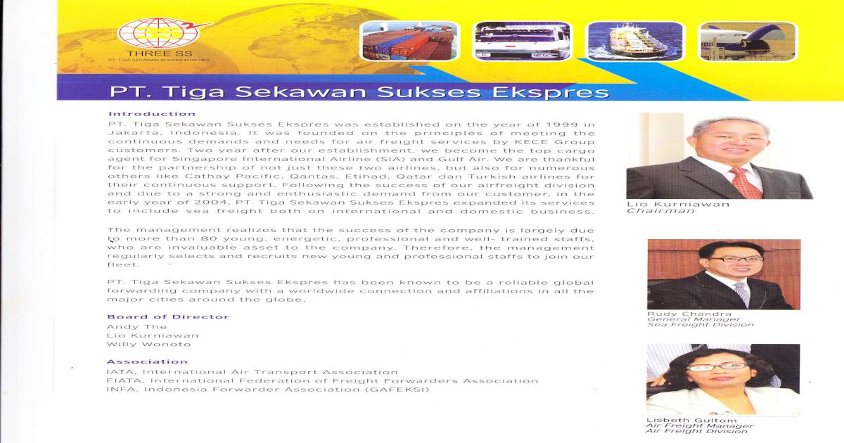 Company Profil 3ss