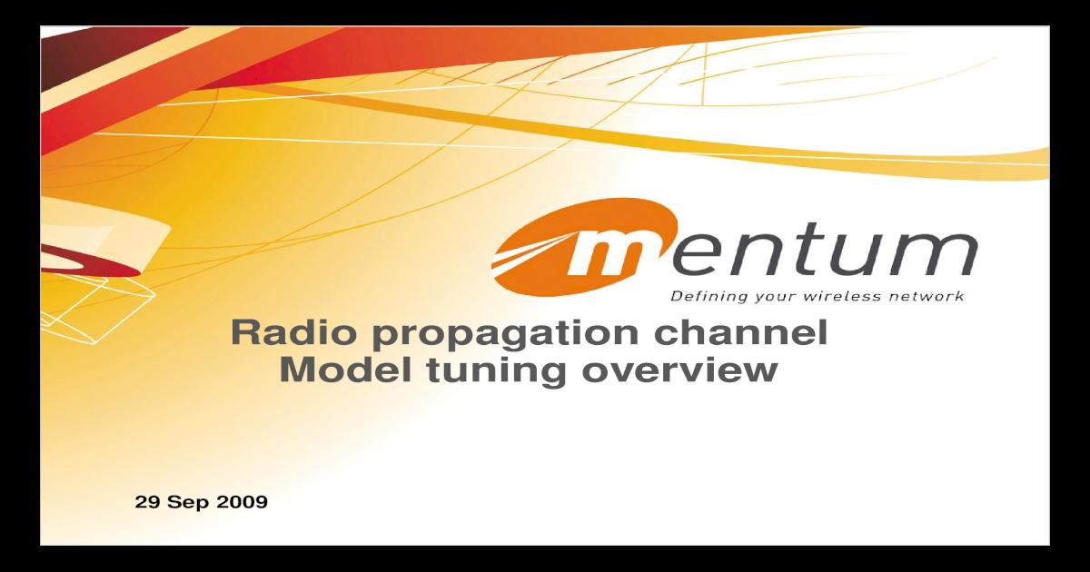 mentum planet radio propagation channel model tuning overview rh dokumen tips Mentum Anatomy Face Mentum Position