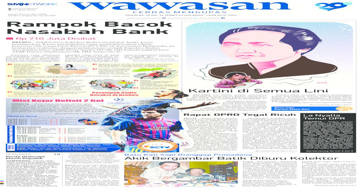 Wawasan 21 April 2015