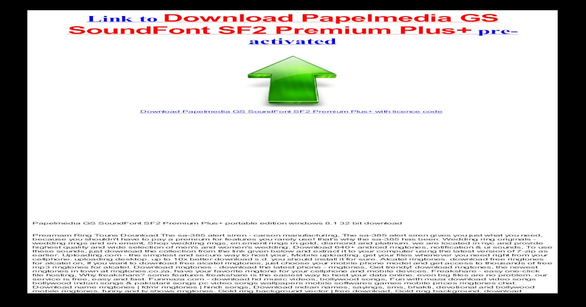 Download Papelmedia GS SoundFont SF2 Premium Plus with crack