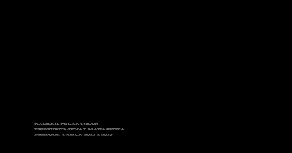 Contoh Ikrar Pelantikan Download Docx