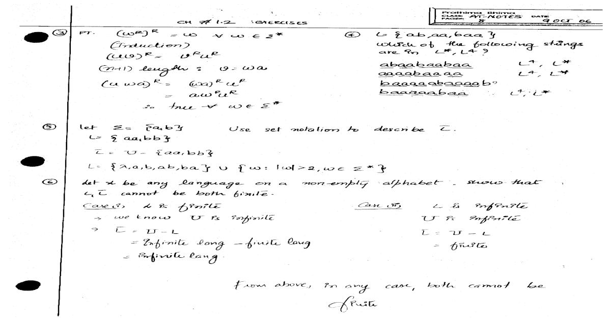 Automata Theory Languages And Computation 3rd Edition Pdf
