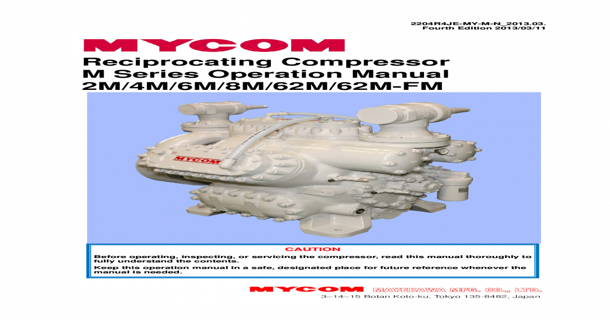 manual of mycom compressors rh dokumen tips