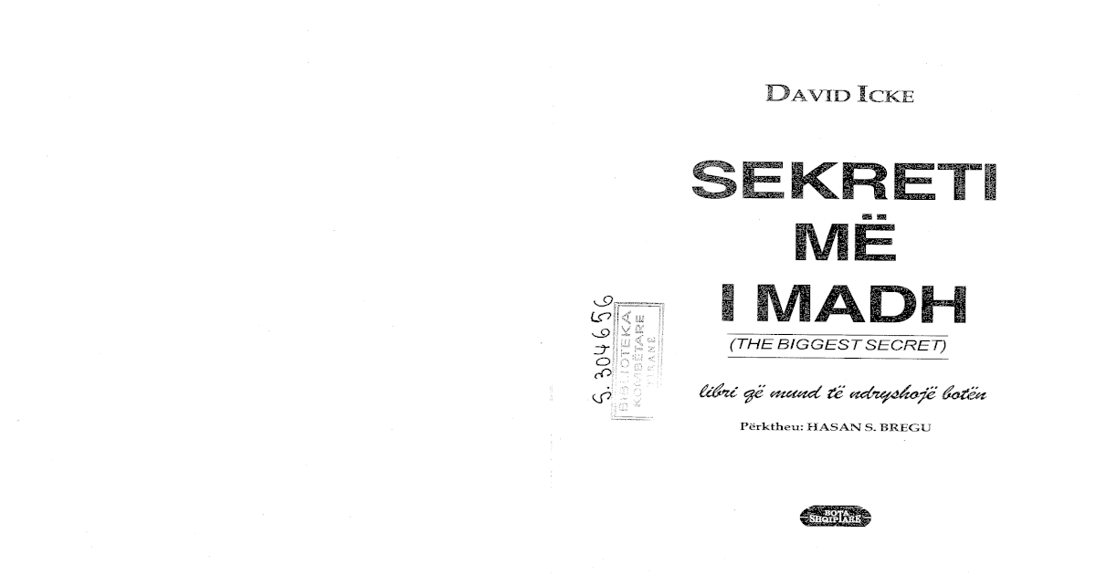 David icke sekreti me i madh shqip fandeluxe Image collections