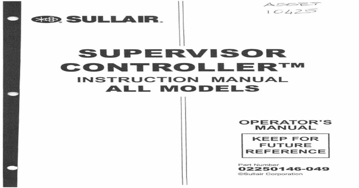 sullair 185 owners manual a good owner manual example u2022 rh usermanualhub today Sullair Compressor Parts sullair 185 compressor operator manual