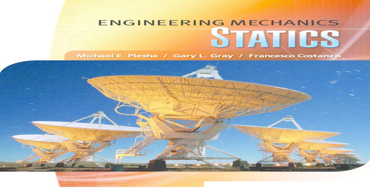 Engineering mechanics statics fandeluxe Image collections