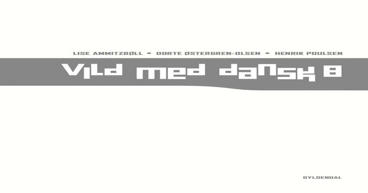Vild Med Dansk 8 3c20088978408