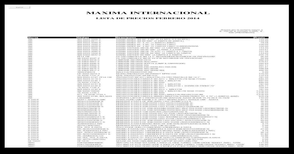 dd94160df779b   Lista de Precios  ..
