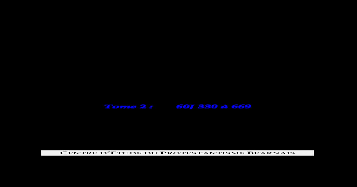 Rpertoire Des Archives Du CEPB Tome 2