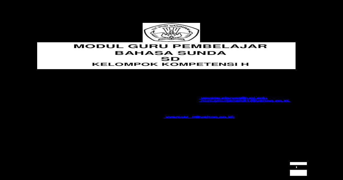 Contoh Fiksi Bahasa Sunda Detil Gambar Online