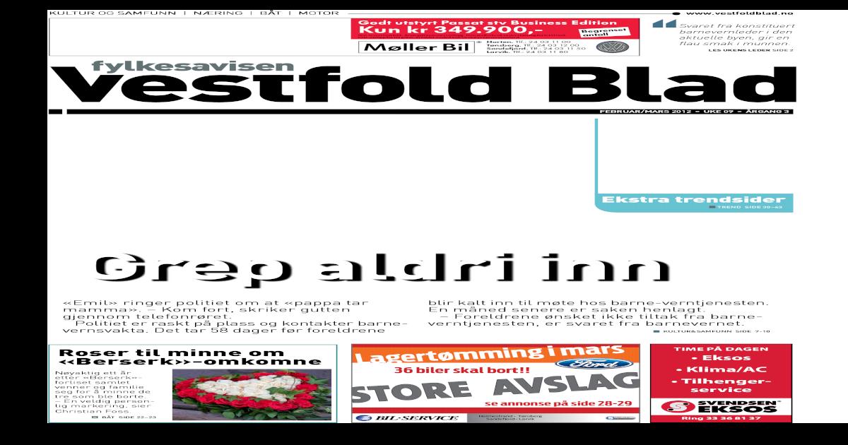 72f6a141216a Vestfold Blad - uke 09 2012