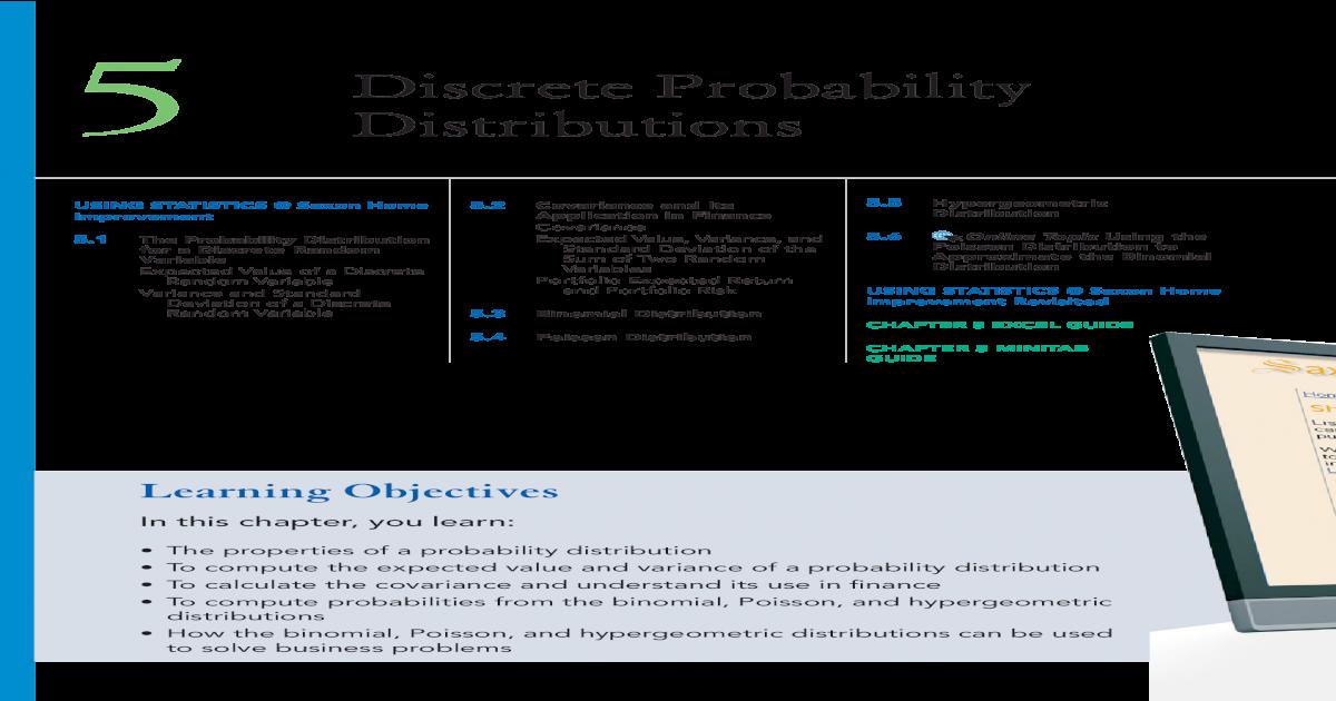 Chapter 5 Discrete Probability