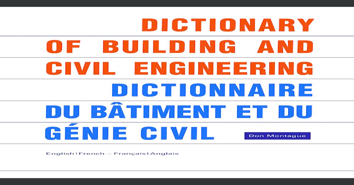 92db7f94b05e Dictionnaire dubtiment et dugnie civi fr en