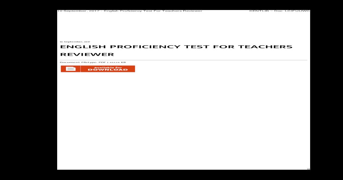 ashford university english proficiency exam answers