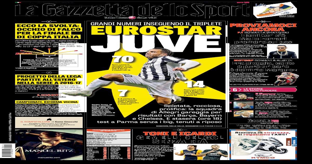 La Gazzetta dello Sport (04-11-2015) 2cce740fe6bf