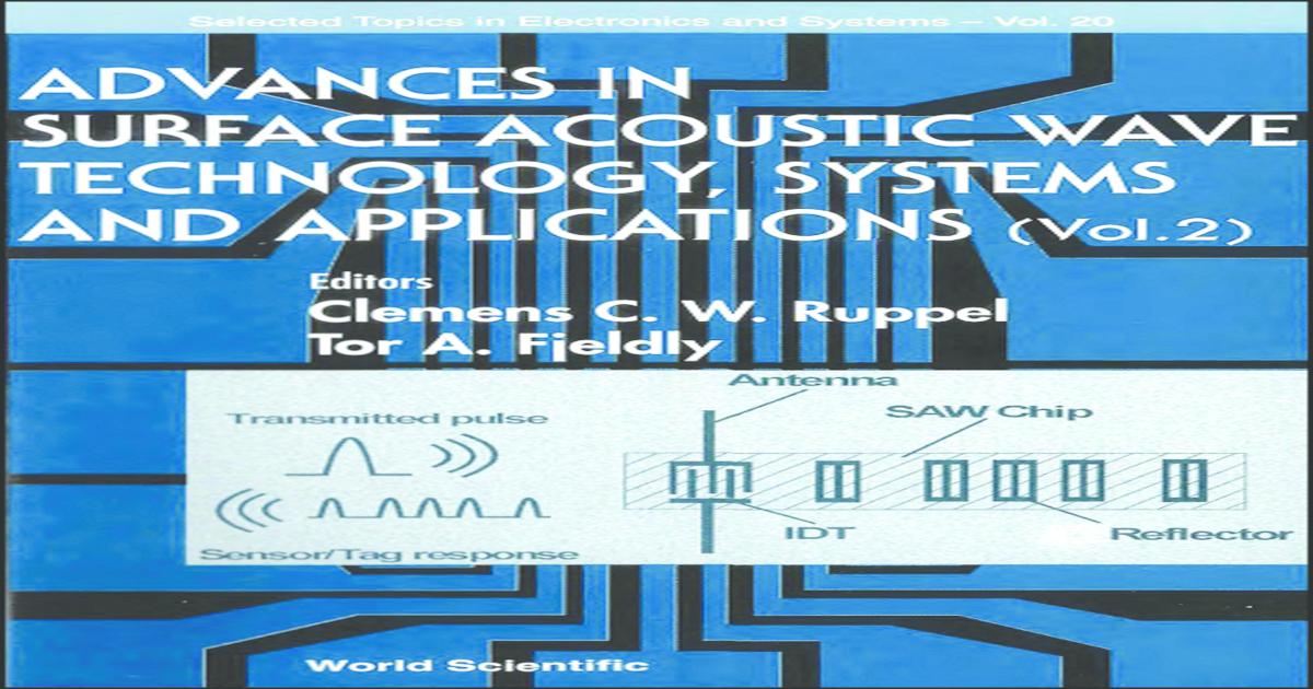 Advances in Surface Acoustic Wave Technology 07e49063894e7