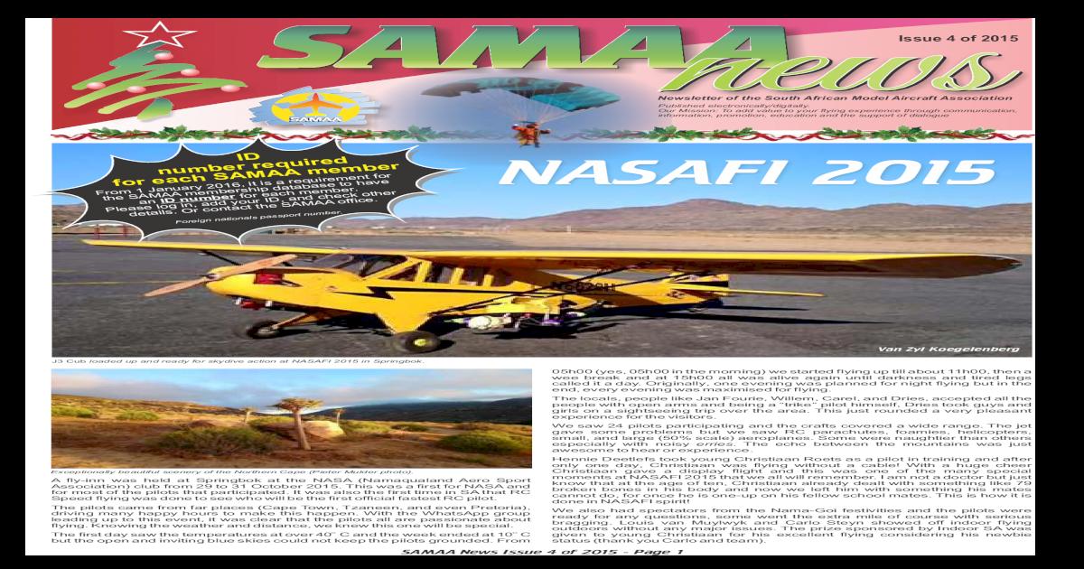 3da62328b39 SAMAA News Issue 4 of 2015