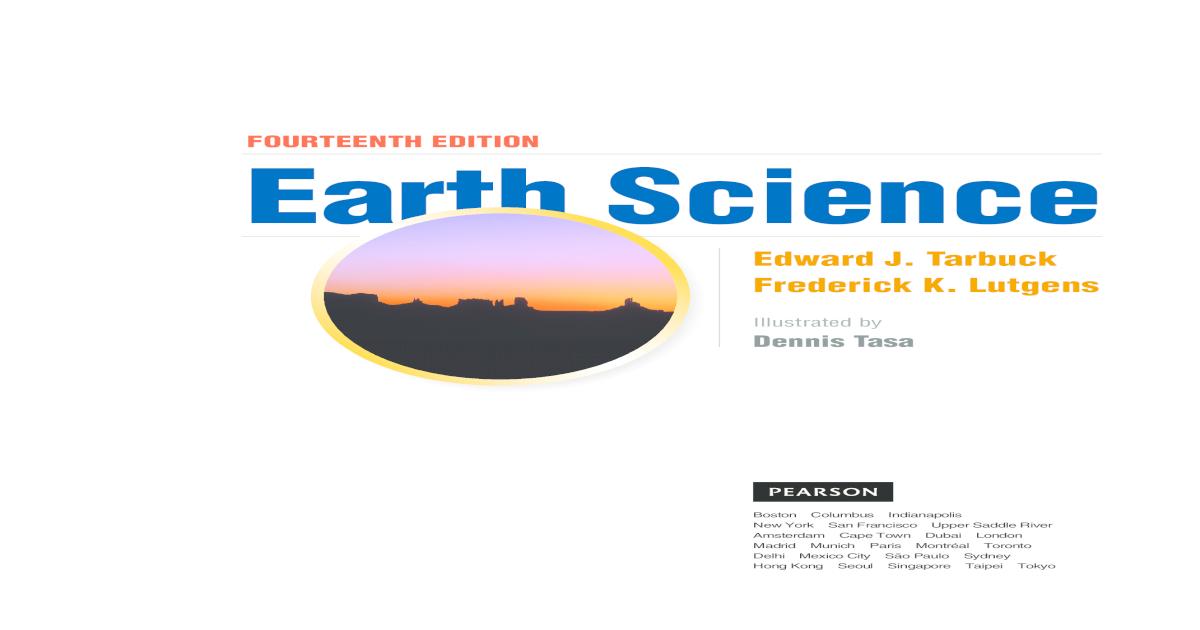 Tarbuck Y Lutgens Ciencias De La Tierra Pdf