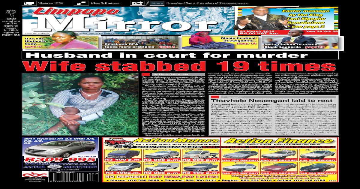 25 March 2016 - Limpopo Mirror