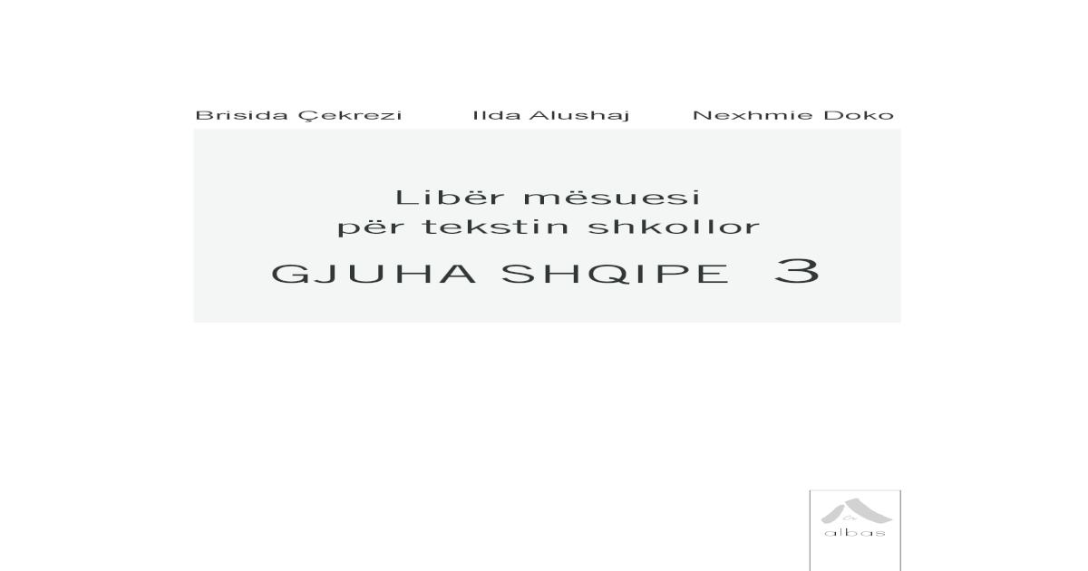 Libr msuesi pr tekstin shkollor Gjuha shqipe . prgatit nj plan pune 1-  javor  3. diskuton pr mnyrn e sjelljes s nxnsve n klas 1390909055