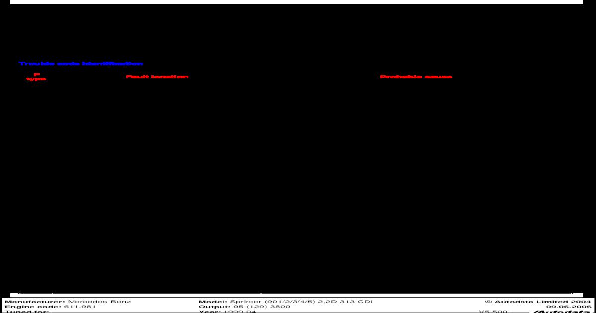 p0203 mercedes code