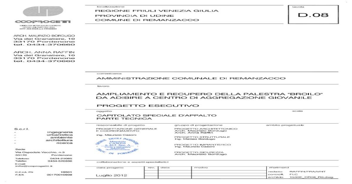 RELAZIONE TECNICA 5896ebf9ac1