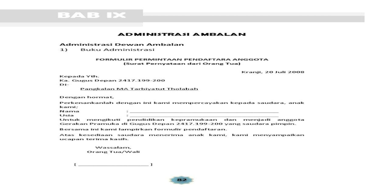 Surat Pengunduran Diri Karyawan Kontrak Indomaret