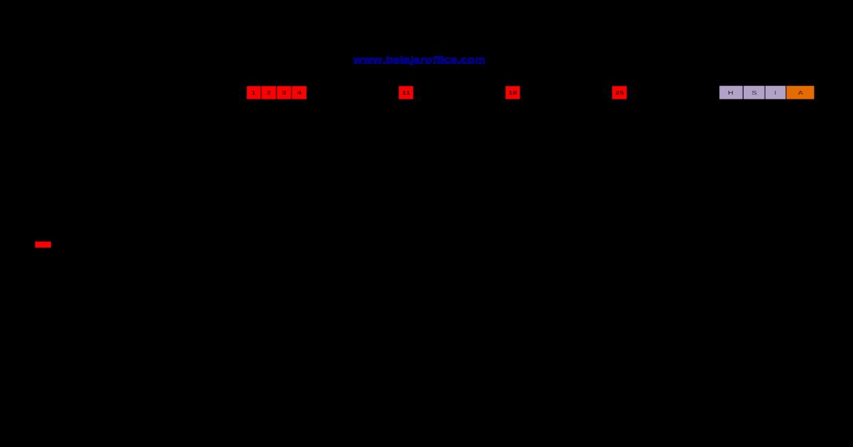 Format Absensi Guru Excel