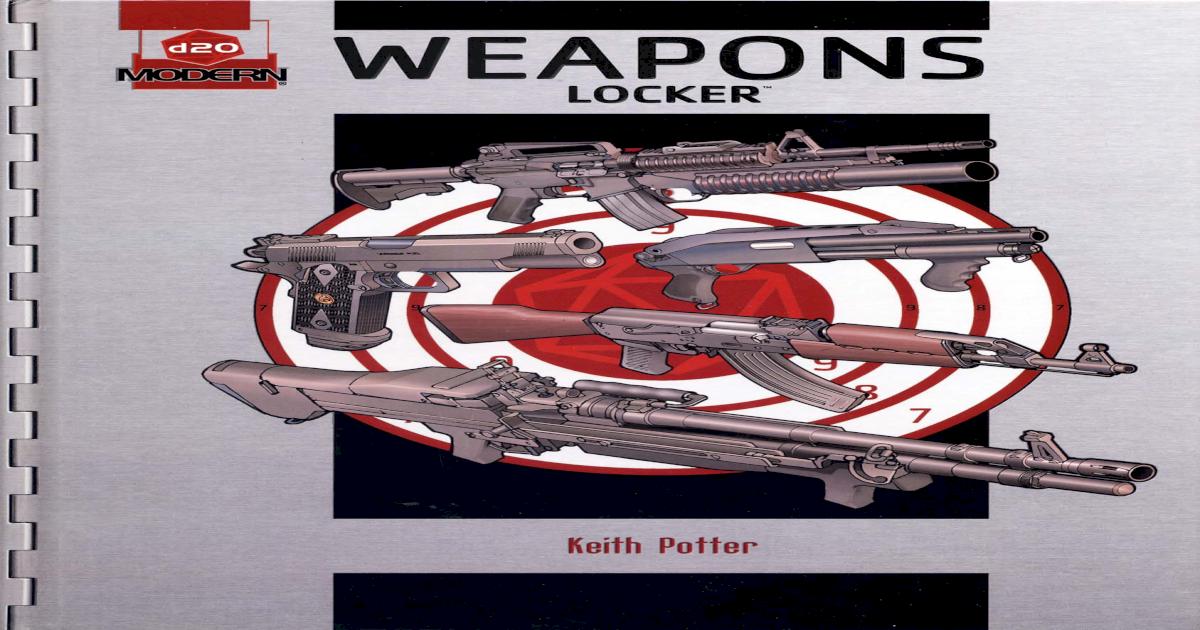 D20 Weapons Locker Pdf