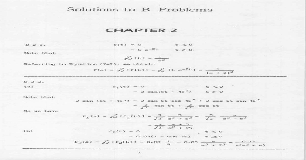 Katsuhiko Ogata Modern Control Engineering 4th Edition Pdf