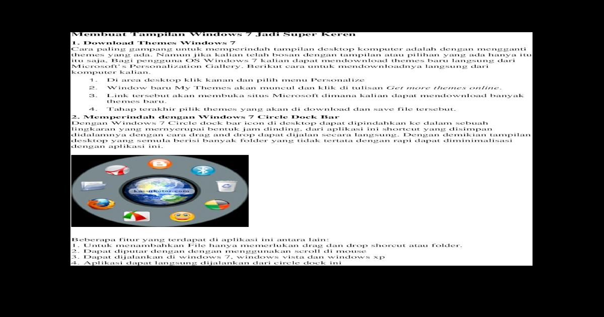 Membuat Tampilan Windows 7 Jadi Super Keren 11493865f9