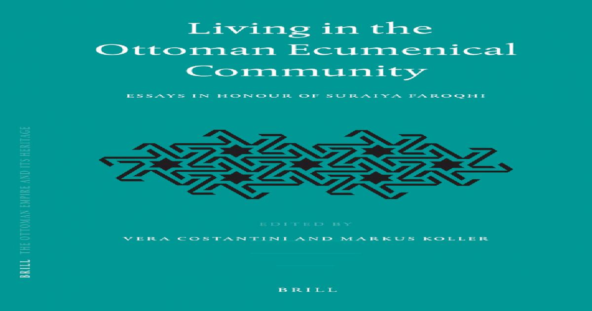 In Constantini Ecumenical Community The Ottoman Living 5L3R4Aqj