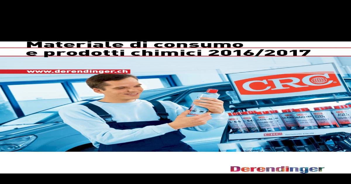 Consumo Materiale E Prodotti Chimici Di Cvxgv5n