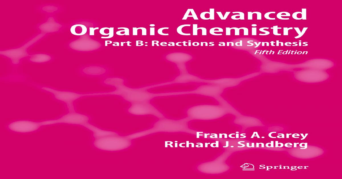 organic reaction mechanisms 1995 knipe a c watts w e