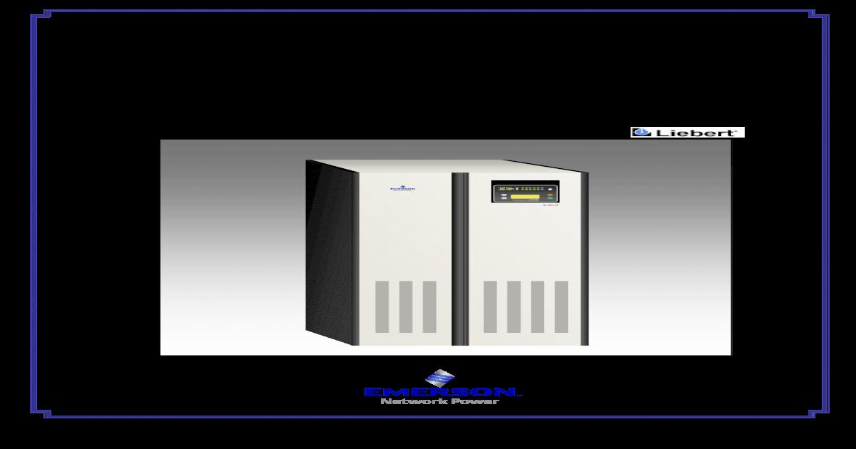 Liebert Series 7400m - 50hz - Users Manual