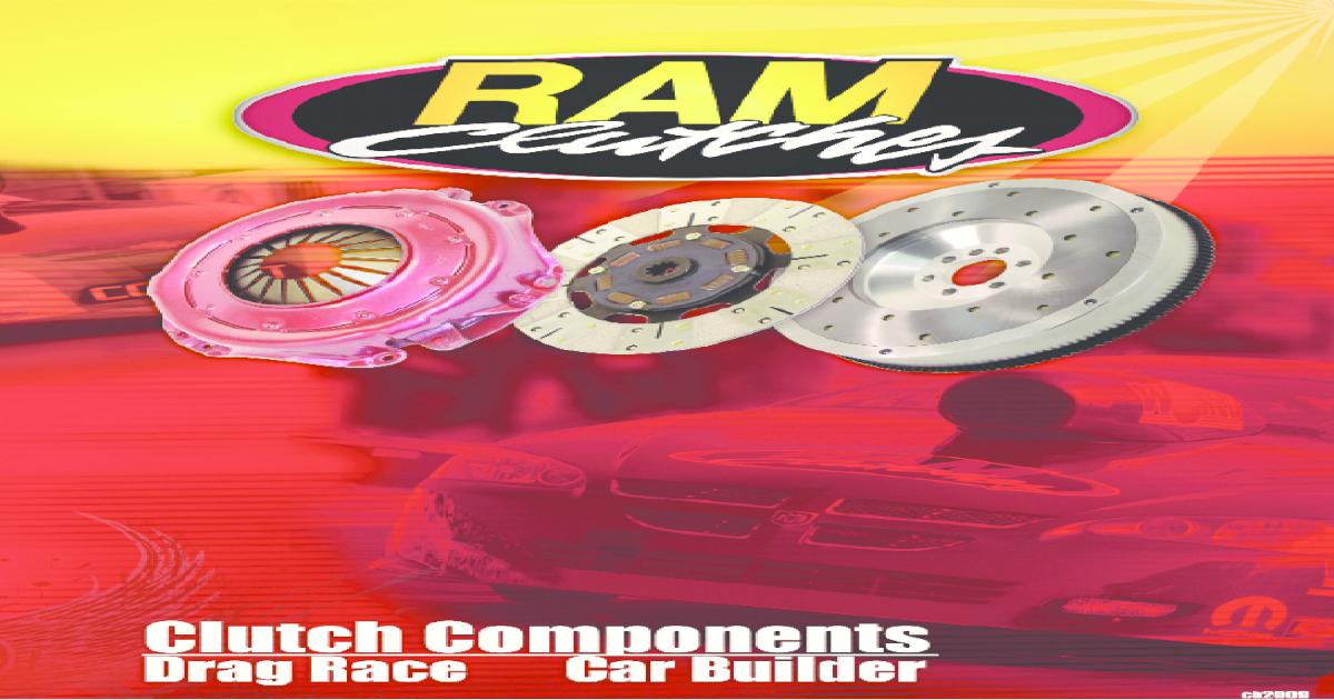 Ram Clutches 1021 Rametallic 1000 Series 10.5 Clutch Disc
