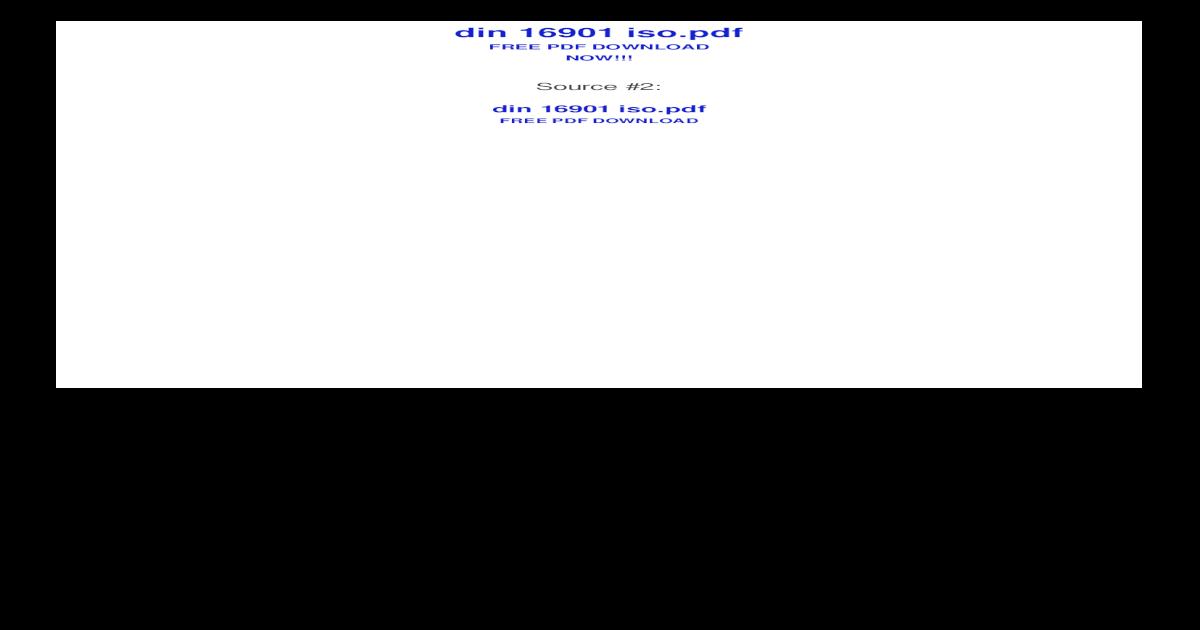 Din Iso 13715 Ebook