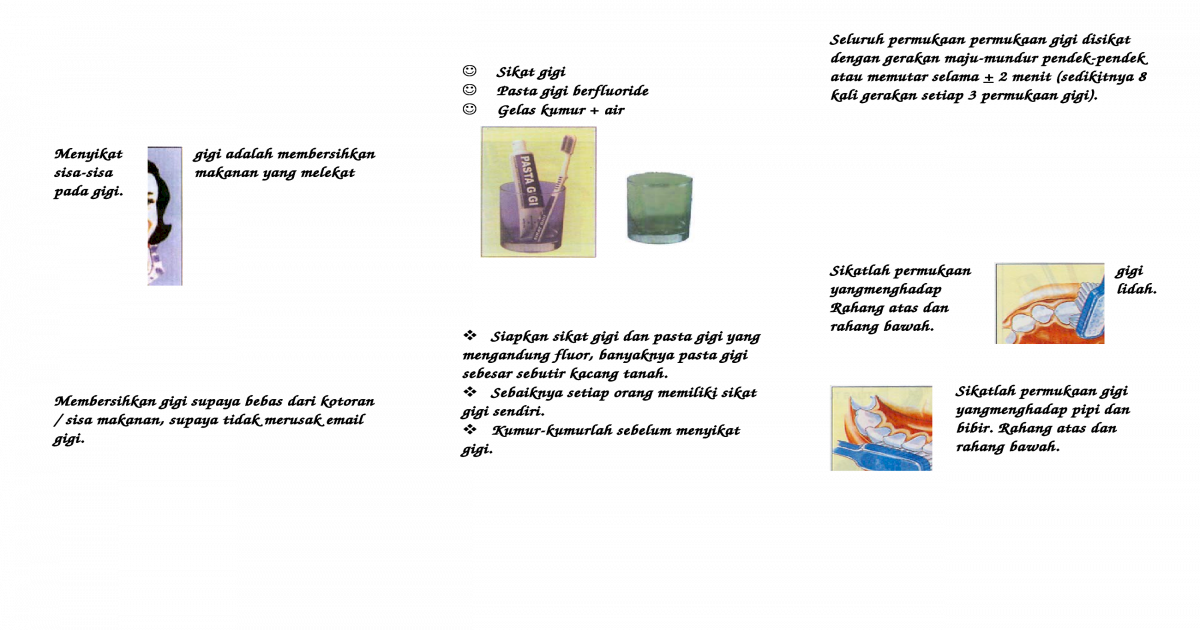 Leaflet Cara Menyikat Gigi 5c2c5f9c95