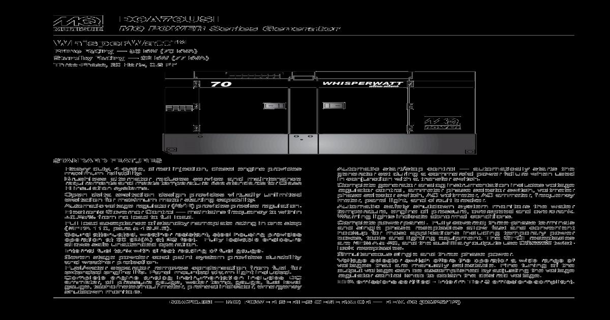 MQ POWER Series Gen (1) pdf dca70Usi MQ POWER sERiEs