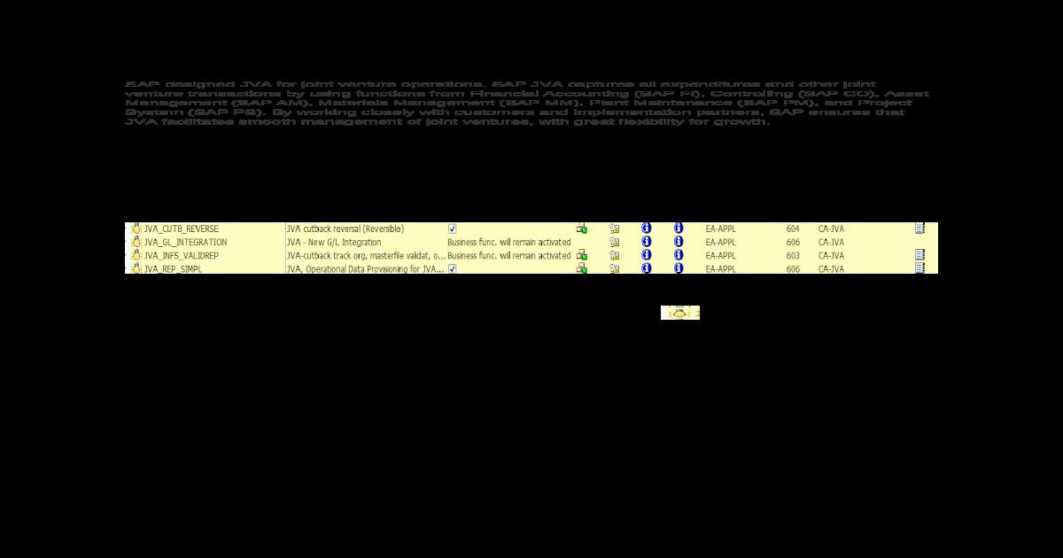JVA Configuration Document Docx dox